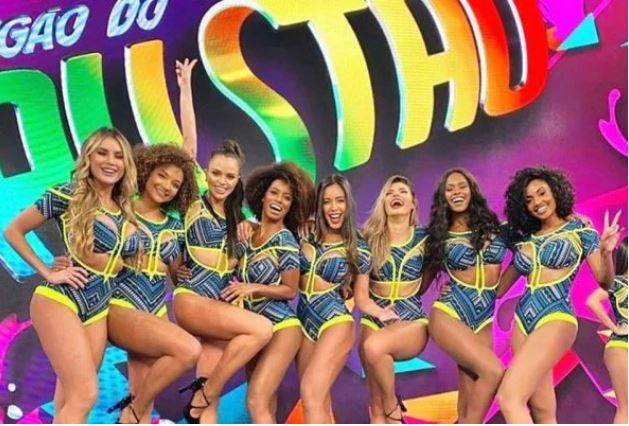 Bailarinas do Domingão são dispensadas
