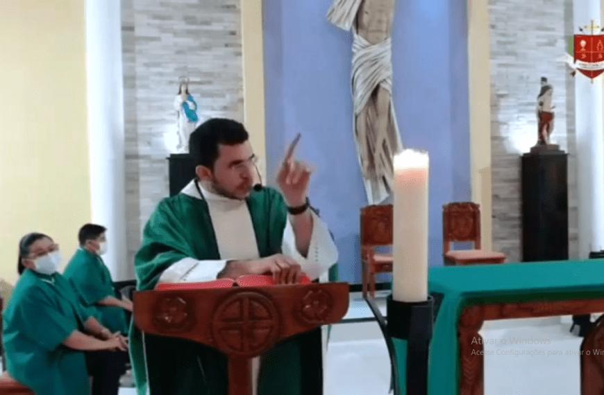 [Vídeo] Antoniel Alves, padre em Doutor Severiano, pede para que fiéis não participem de ato com Bolsonaro no RN