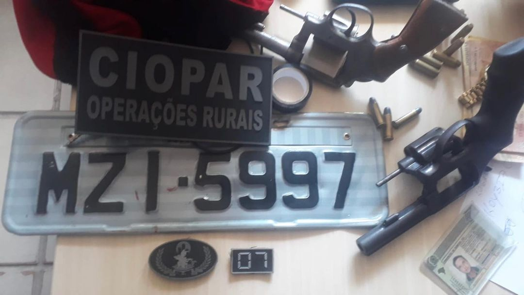 Ciopar evita roubo e prende três bandidos em Parnamirim após assalto a posto de gasolina