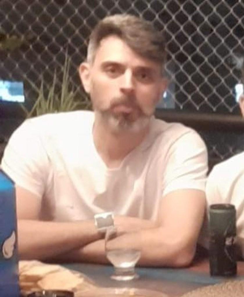 Turista de São Paulo Rodrigo Medrado Machado