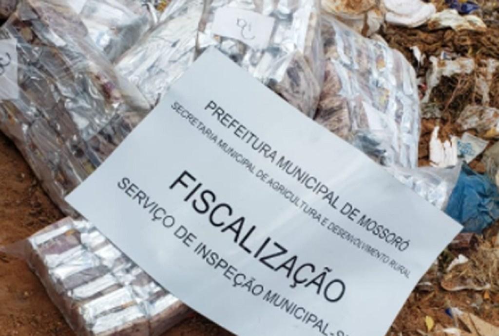 Após denúncia anônima, Serviço de Inspeção Municipal de Mossoró apreende 4 toneladas de carne de charque imprópria para consumo III