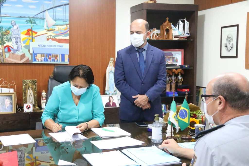 Fátima promove 466 agentes de segurança do Rio Grande do Norte; foram 8.090 promoções desde 2019