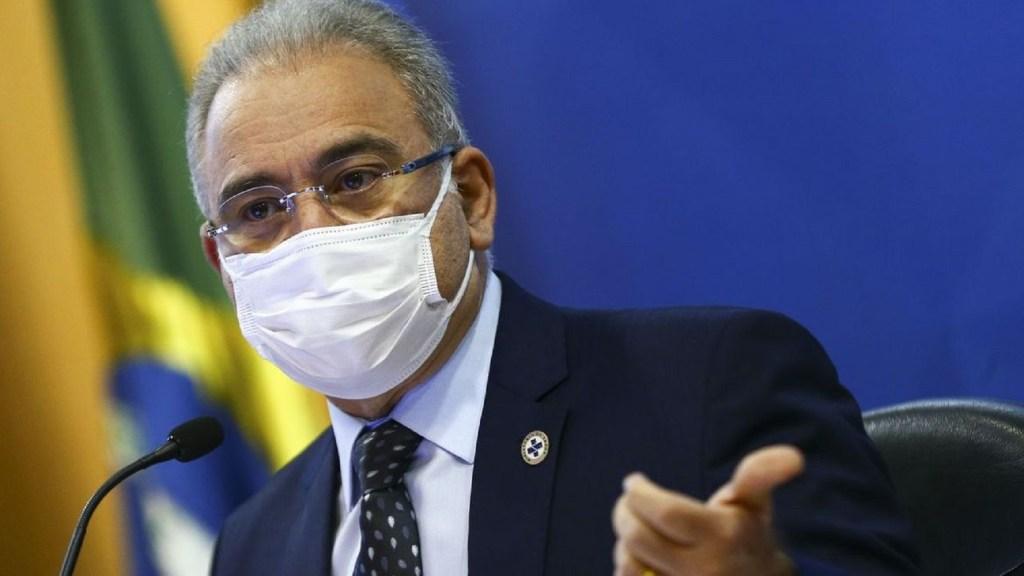 Marcelo Queiroga fala sobre a terceira dose nos brasileiros