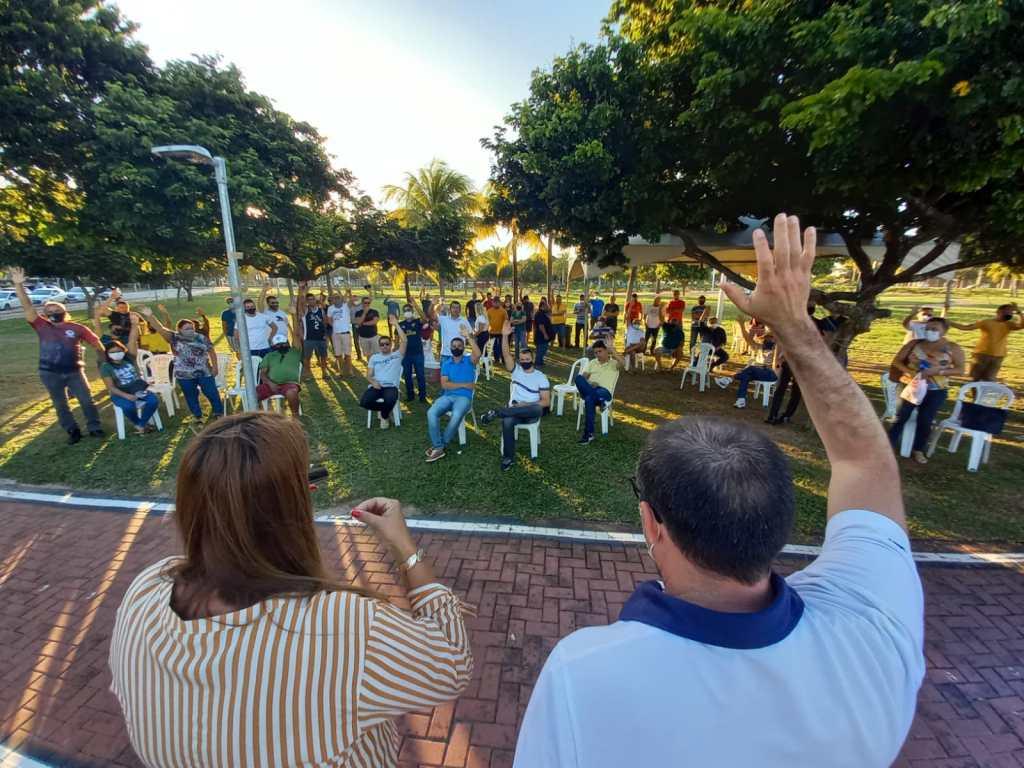 Com pautas que vão de vale-alimentação a fardamentos, militares estaduais vão às ruas nesta quarta-feira (15)