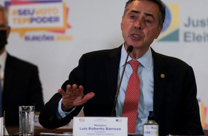 Barroso volta a defender regulamentação das redes sociais
