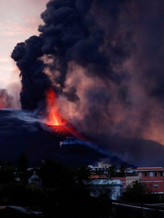 Vulcão Cumbre Vieja em La Palma não dá sinais de abrandamento