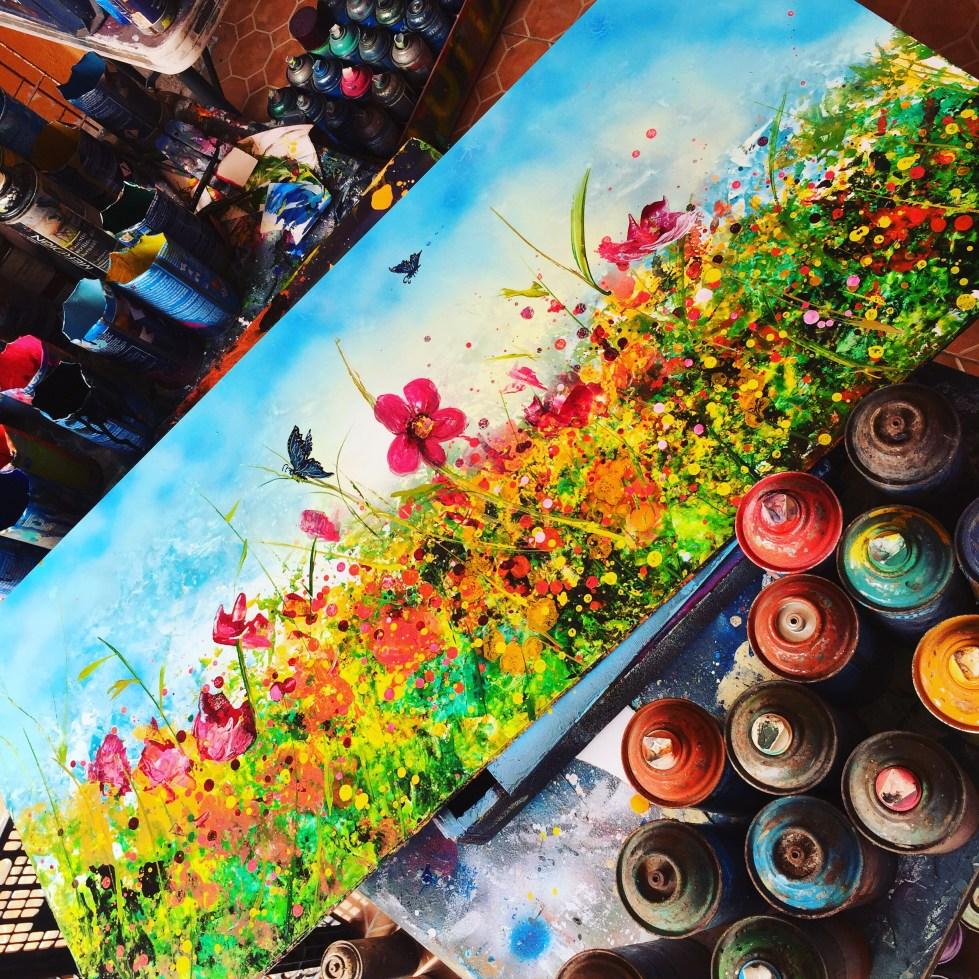 Spray-Paint Art