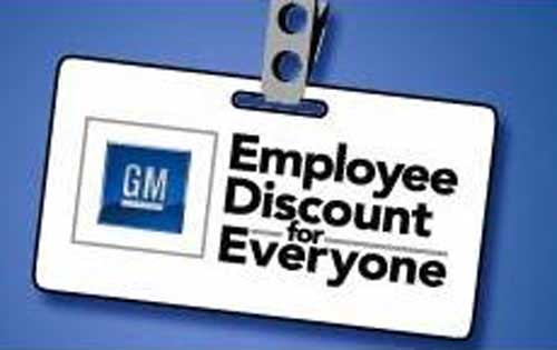 Gm Hoping To Recoup 450k In Employee Discounts Por Homme