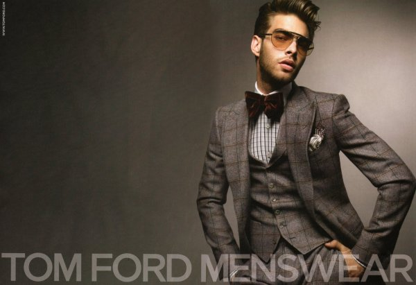 Tom Ford Menswear Ad Campaign - Por Homme Men'