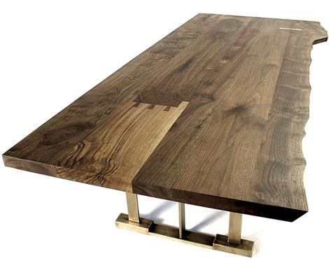 Hudson Furniture S Modern Solid Wood In Claro Walnut Por Homme