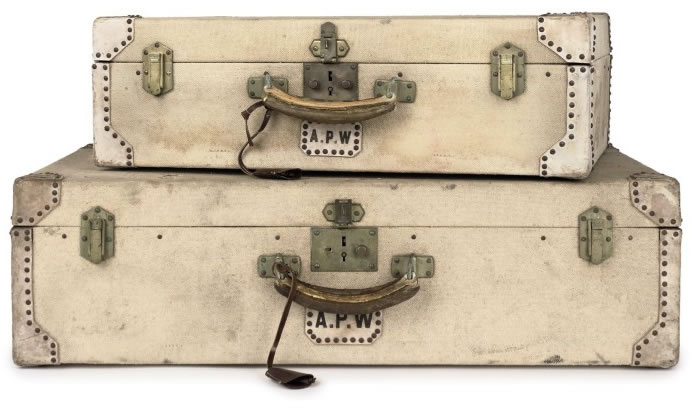Vintage luggage by Louis Vuitton, Dunhill and Hermès at Christie's ...