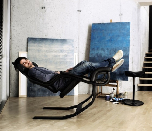 Gravity Reclining chair by Varier & reclining chair Archives - Por Homme - Contemporary Menu0027s Lifestyle ...