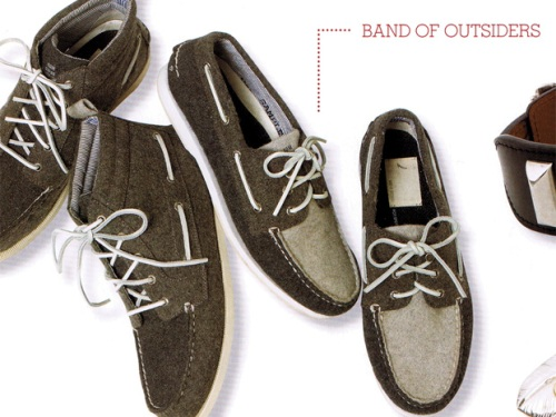 F/W 2009: Band of Outsiders for Sperry