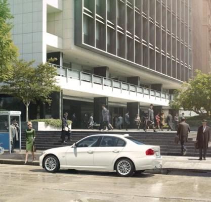 Ad Campaign: BMW x Mad Men in Vanity Fair