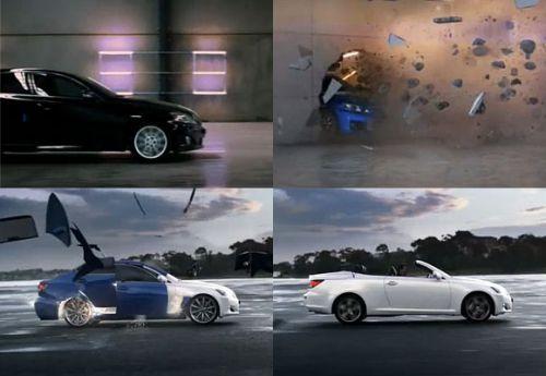 Lexus ISC Ad Campaign by Saatchi & Saatchi