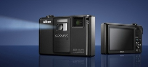 Nikon Coolpix S1000pj with Built-in Projector