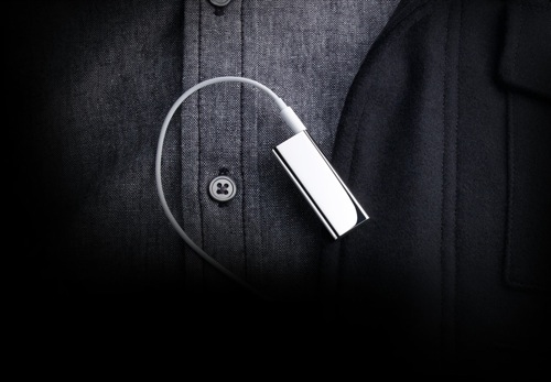 iPod Shuffle in Polished Stainless Steel