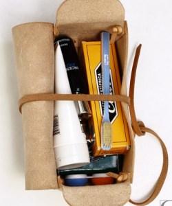 Kenton Sorenson Leather Dopp Kit [Travel]