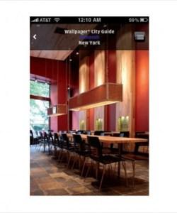 Wallpaper* City Guide iPhone App