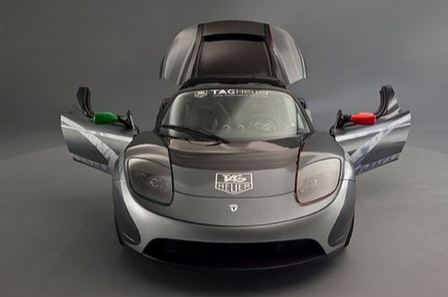 2010 TAG Heuer x Tesla Roadster