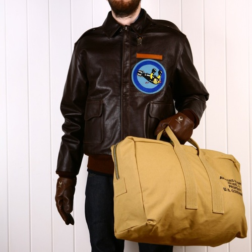 Eastman Leather X Heritage Research Aviator Pack