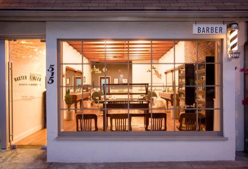 Now Open: Baxter Finley Barber & Shop [L.A.]