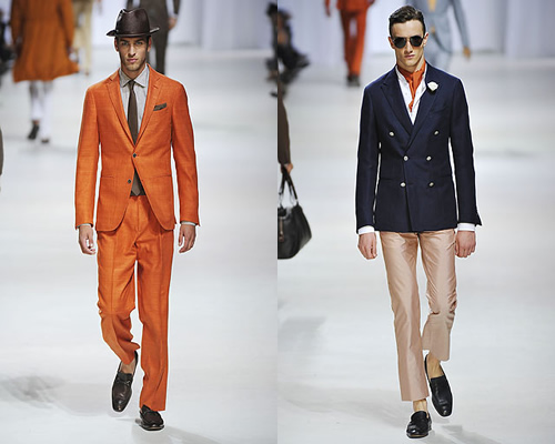 Milan Fashion Week: Ermenegildo Zegna Spring 2011