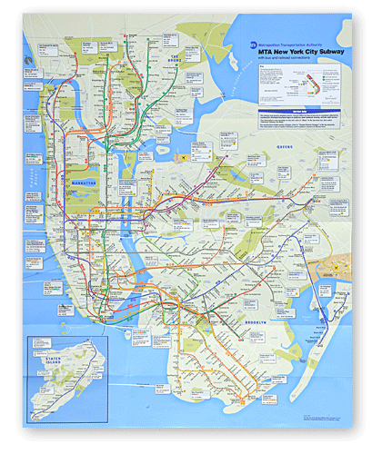 New York City Subway Map Design.Mta New York City Subway Map Design Por Homme Contemporary