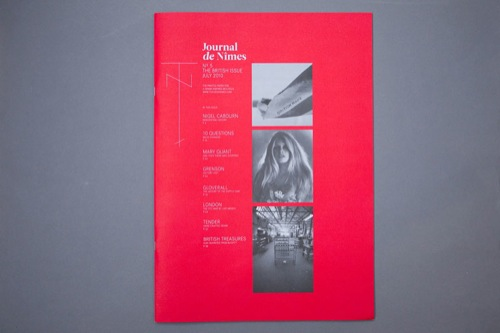 Journal de Nimes Nº5 - The British issue [July 2010]