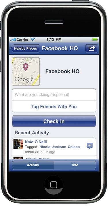 Introducing: Facebook Places [Foursquare]