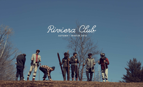 Riviera Club Autumn/Winter 2010 Lookbook