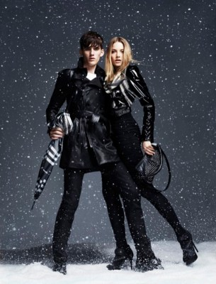 Fall 2010 | Burberry Winter Storms Capsule Collection