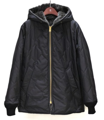 South2 West8 Quilted Reversible Hooded Coat