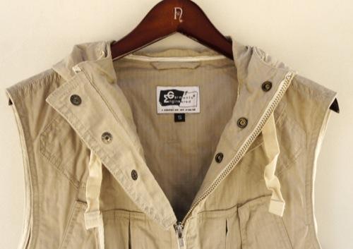 In Stock | Engineered Garments Hooded Field Vest, S/S 2011