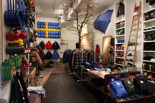 Now Open | Fjällräven Den at Mott Street, NYC