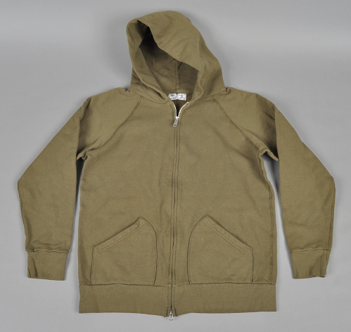Basics | Velva Sheen Hooded Zip Sweatshirt