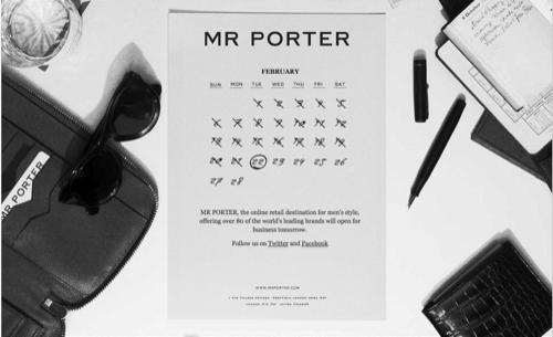 MR PORTER | Top Five Picks to Buy Now