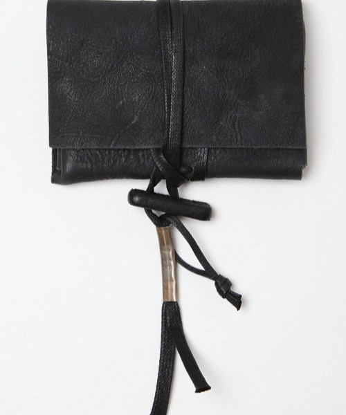 Boris Bidjan Saberi Leather Pouch Wallet