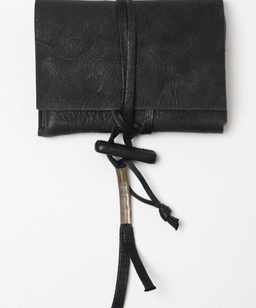 Boris Bidjan Saberi Leather Pouch Wallet