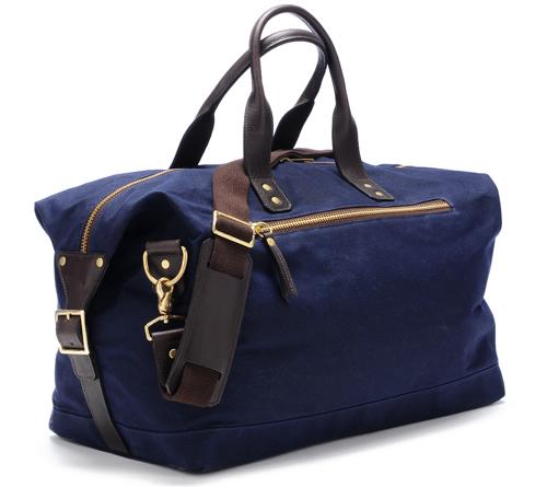 Ernest Alexander Wax Canvas Weekend Bag