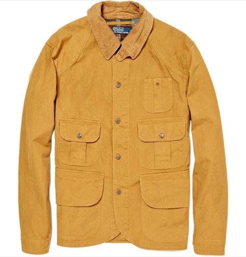 Polo Ralph Lauren Canvas Cotton Jacket