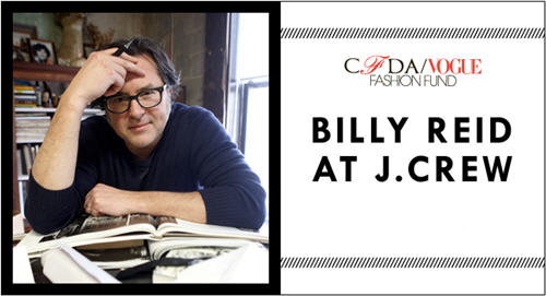 Now Available | Billy Reid at J.Crew CFDA Capsule Collection