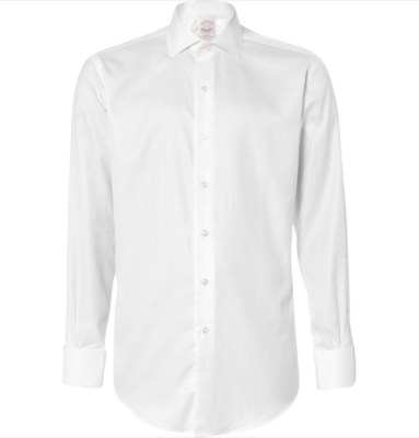 Brooks Brothers Herringbone Double Cuff Dress Shirt