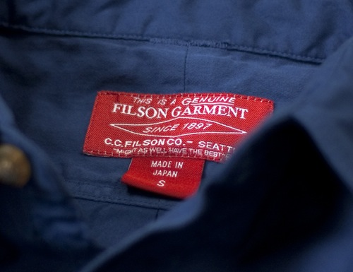 Filson Red Label for nanamica Spring/Summer 2011