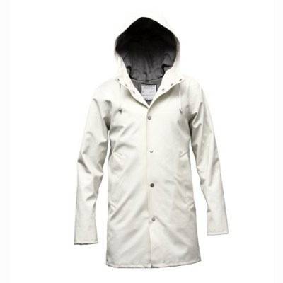 Stutterheim Arholma Vit Classic Swedish Raincoat