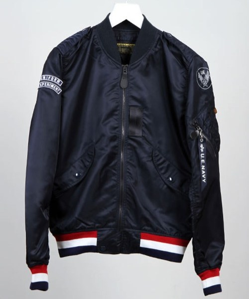 Alpha Industries x Uniform Experiment Soph L-2B Varsity Jacket