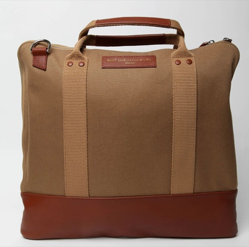 WANT Les Essentiels de la Vie Heathrow Messenger Bag