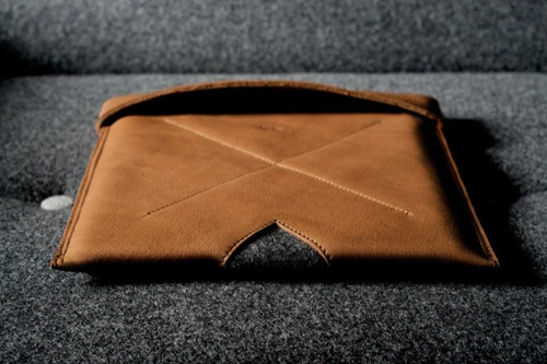 Hard Graft Leather Sleeves for iPad and MacBook