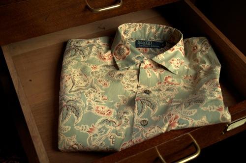 Ralph Lauren Floral Print Niagara Camp Shirt