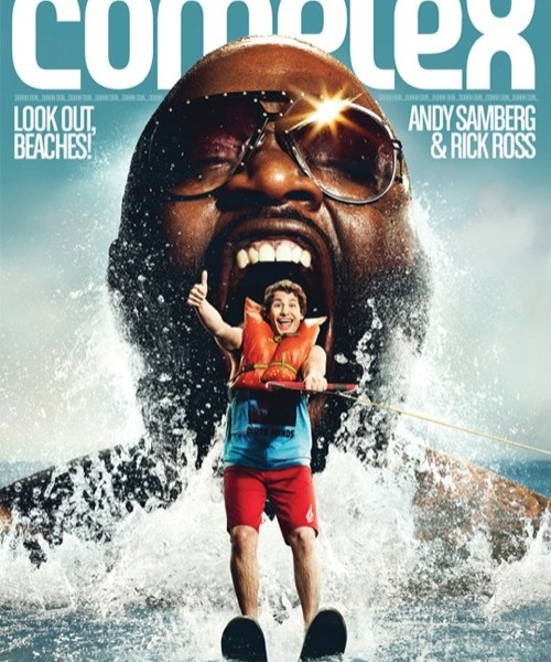 Rick Ross & Andy Samberg Cover Complex July/July 2011 Issue